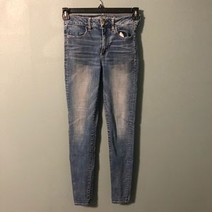 American Eagle Hi-Rise Jegging Super Stretch Jeans